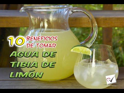 para que sirve tomar limon con agua tibia en ayunas