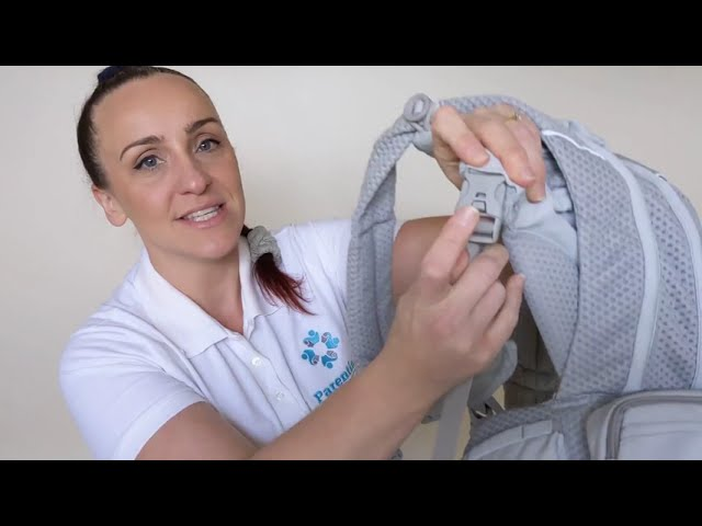 Ergobaby Breeze Review and How To Use With Newborn