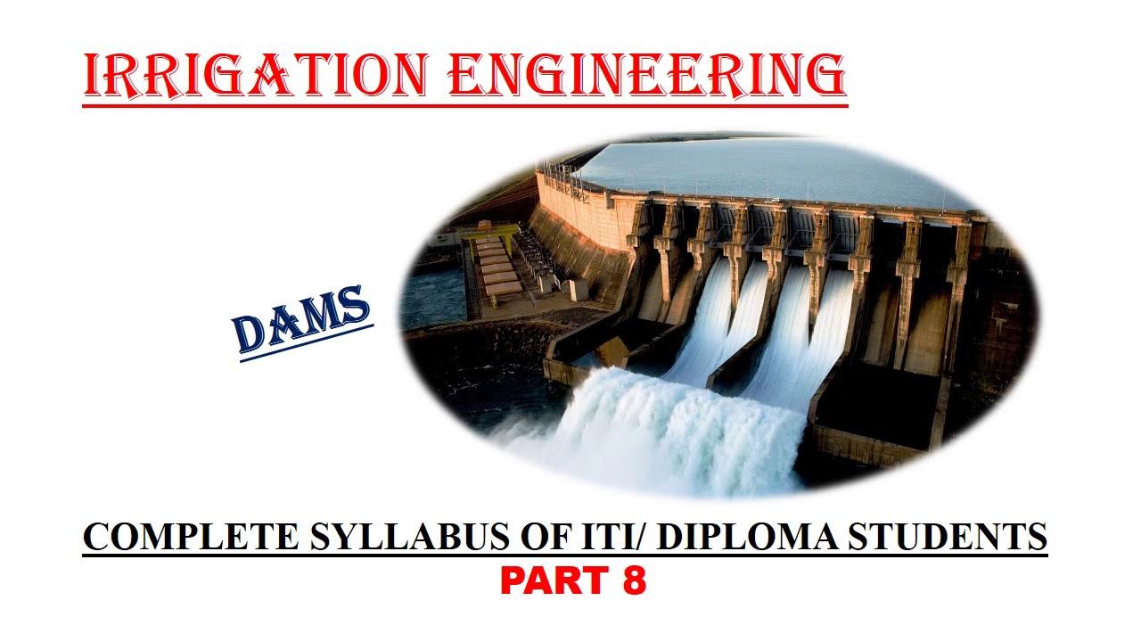 CTV#41||IRRIGATION ENGINEERING-8|| COMPLETE SYLLABUS FOR ITI/DIPLOMA STUDENTS ||KPSC CIVIL EXAMS