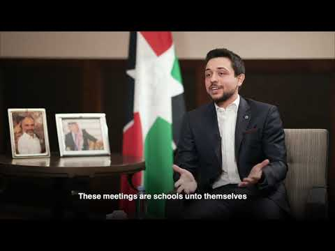alhusseinjo  first interview with Jordan television Ana's majali with English subtitles
