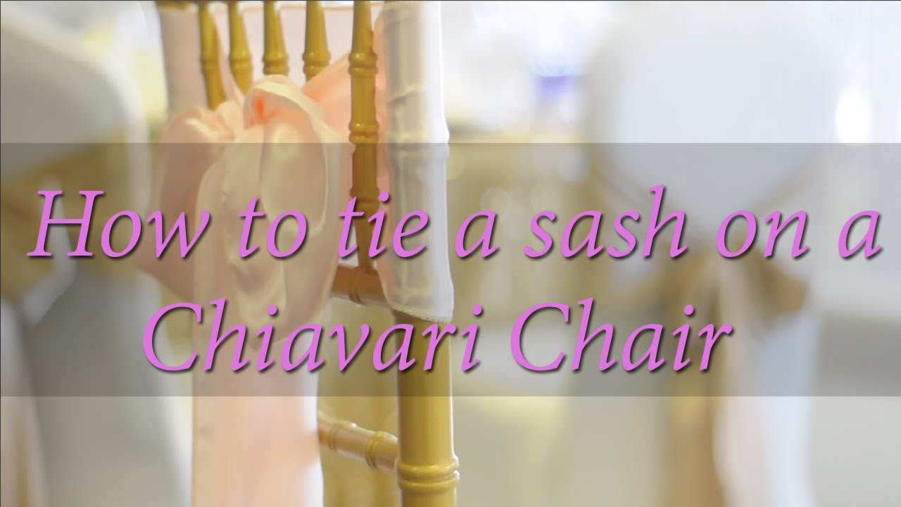 Communication on this topic: How to Tie Chair Sashes, how-to-tie-chair-sashes/