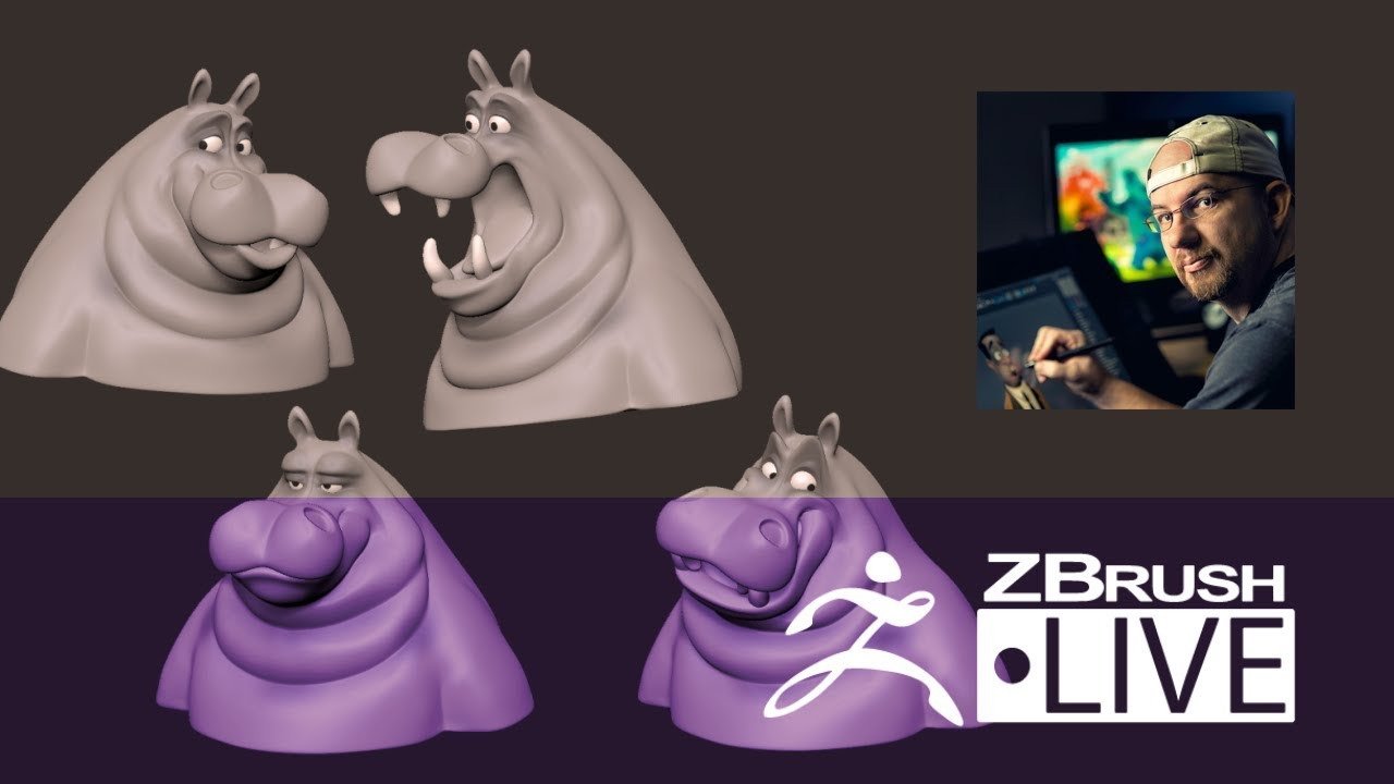 Shane Olson – Sculpting Stylized Characters – Episode 17