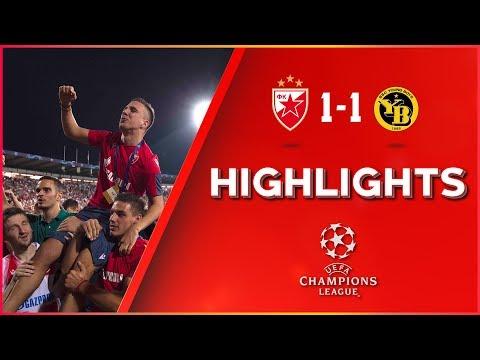 Crvena Zvezda - Jang Bojs 1:1, Highlights