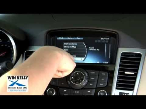How to use navigation in your 2015 Chevy Cruze