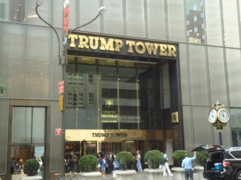Inside Trump Tower, Fifth Avenue, Midtown Manhattan - Home o