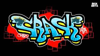 HOW TO DRAW GRAFFITI CRACK SPEED PAINTING LETTERS MS PAINT TUTORIAL LEARN LERNEN BLACKBOOK SKETCH