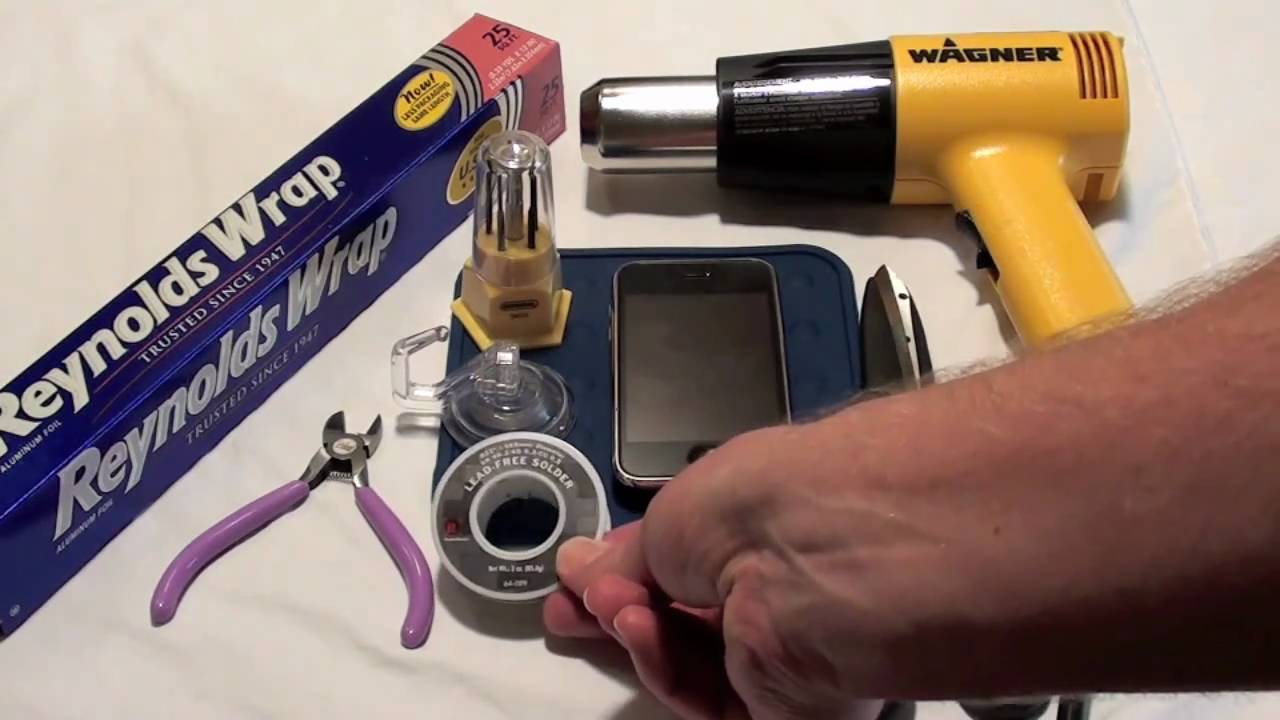 iPhone WiFi Repair: Heat Gun Reflow