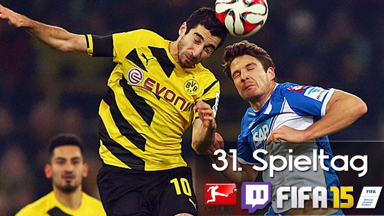 31. Spieltag Bundesliga