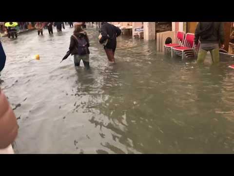 High Water in Venice // Acqua Alta Venezia 29th October 2018