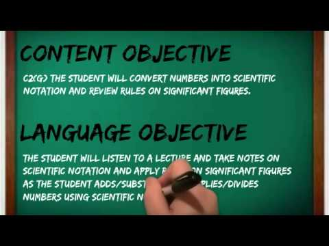 Content And Language Objectives Youtube