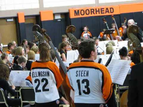 Moorhead Middle school orchestra 2010 4