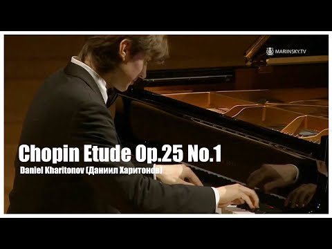 Chopin Etude Op.25 No.1 in A-flat major (Aeolian Harp) Daniel kharitonov(Даниил Харитонов)