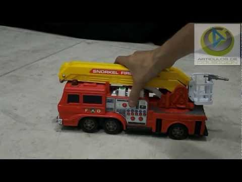Camion bomberos juguete vintage toy review Videos De Viajes