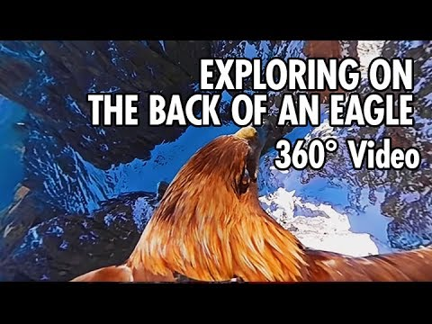 Exploring the Dolomites from an Eagle's Point of View in 360