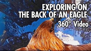 Exploring the Dolomites from an Eagle's Point of View in 360 (4K) thumbnail