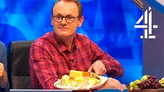 Sean Lock Transforms His Cheese Platter Into A Brexit Joke | 8 Out Of 10 Cats Does Countdown