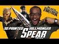 3D Printed Killmonger Spear