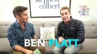 Ben Platt's Late Show Dressing Room Q&A thumbnail