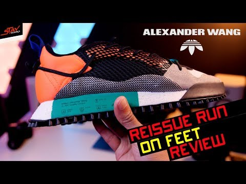 pretty nice 7ea27 e7674 Alexander Wang X ADIDAS AW Reissue Run ON FEET REVIEW!