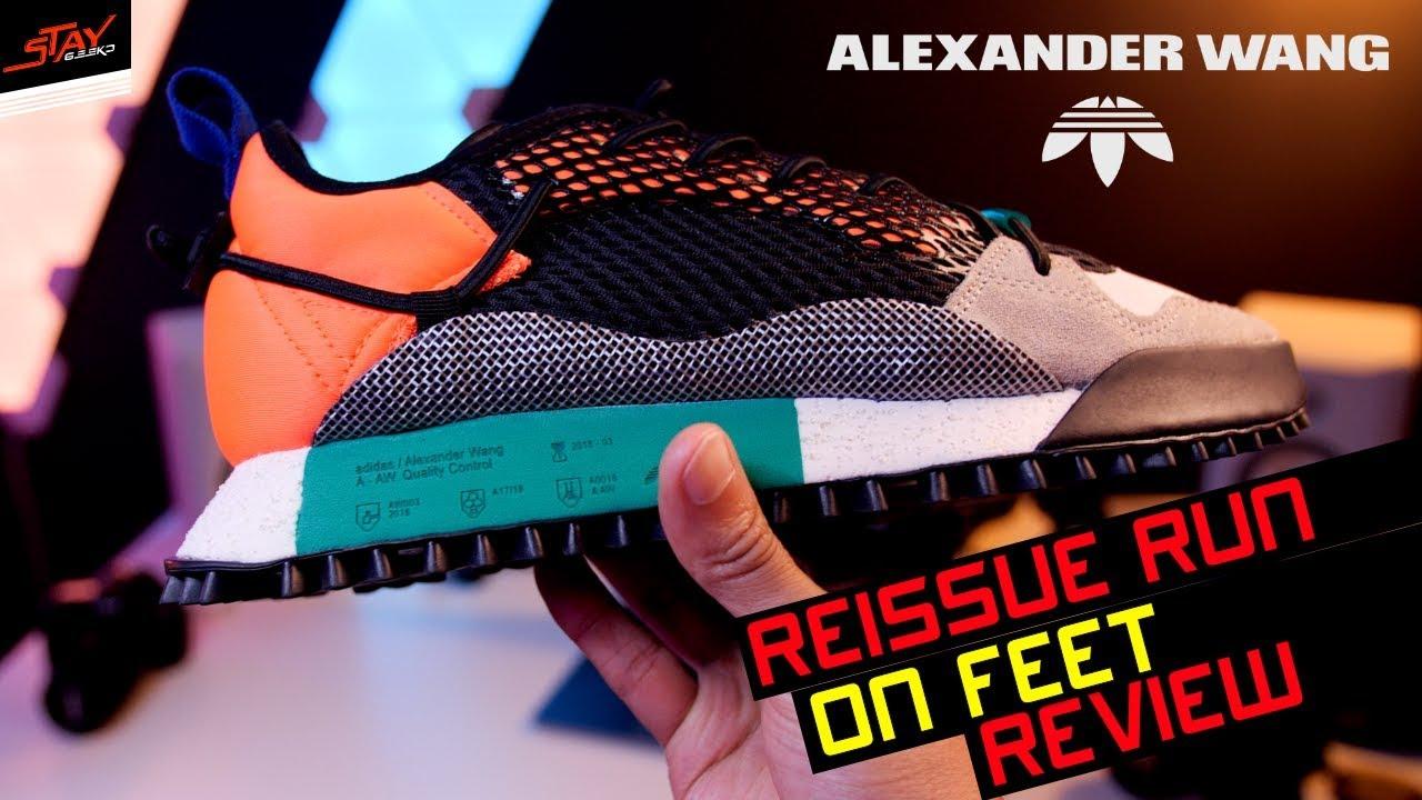 new concept 08c5b 8a37c Alexander Wang X ADIDAS AW Reissue Run ...