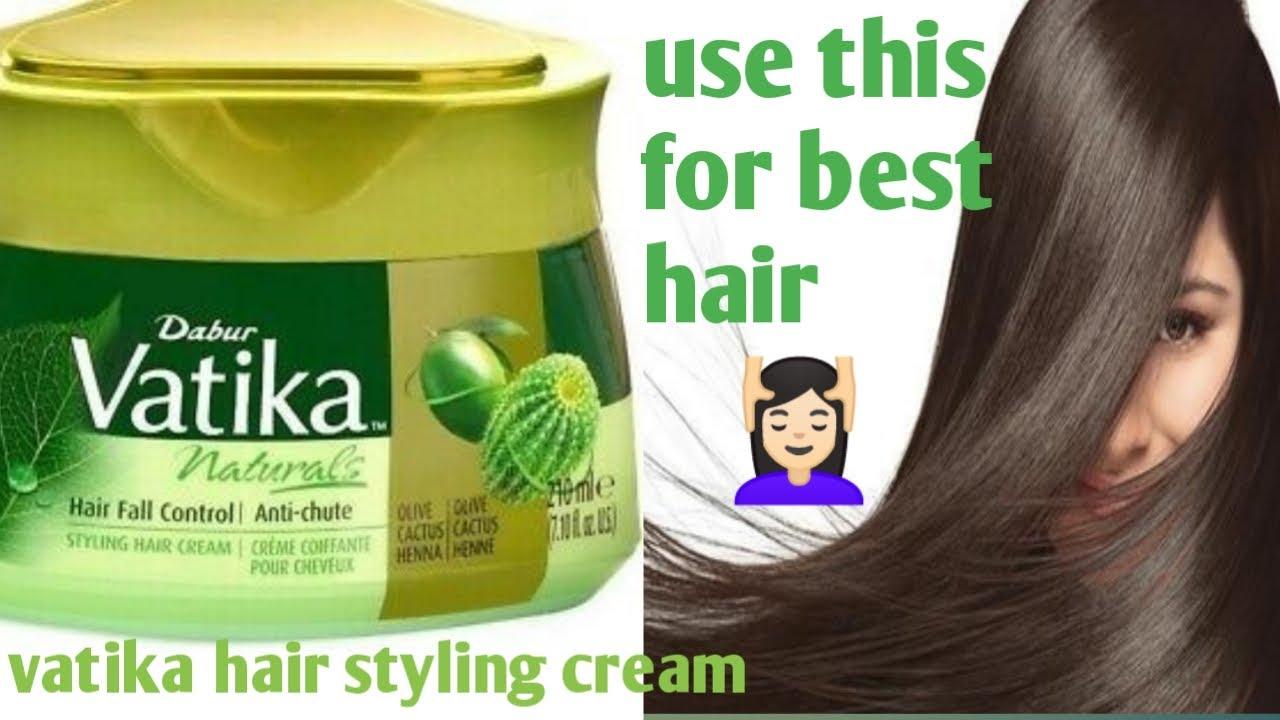 Vatika Hair Styling Cream Hair Styling Cream How To Use Hair Styling Cream Hair Protection Youtube