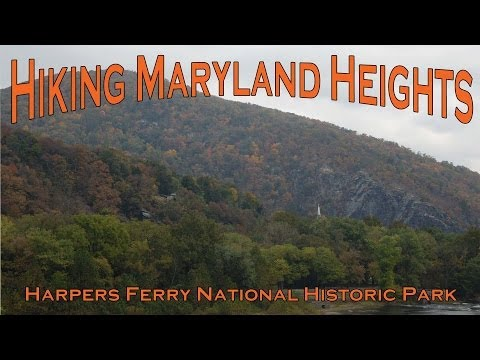 Hiking Maryland Heights - Harpers Ferry National Historic Park