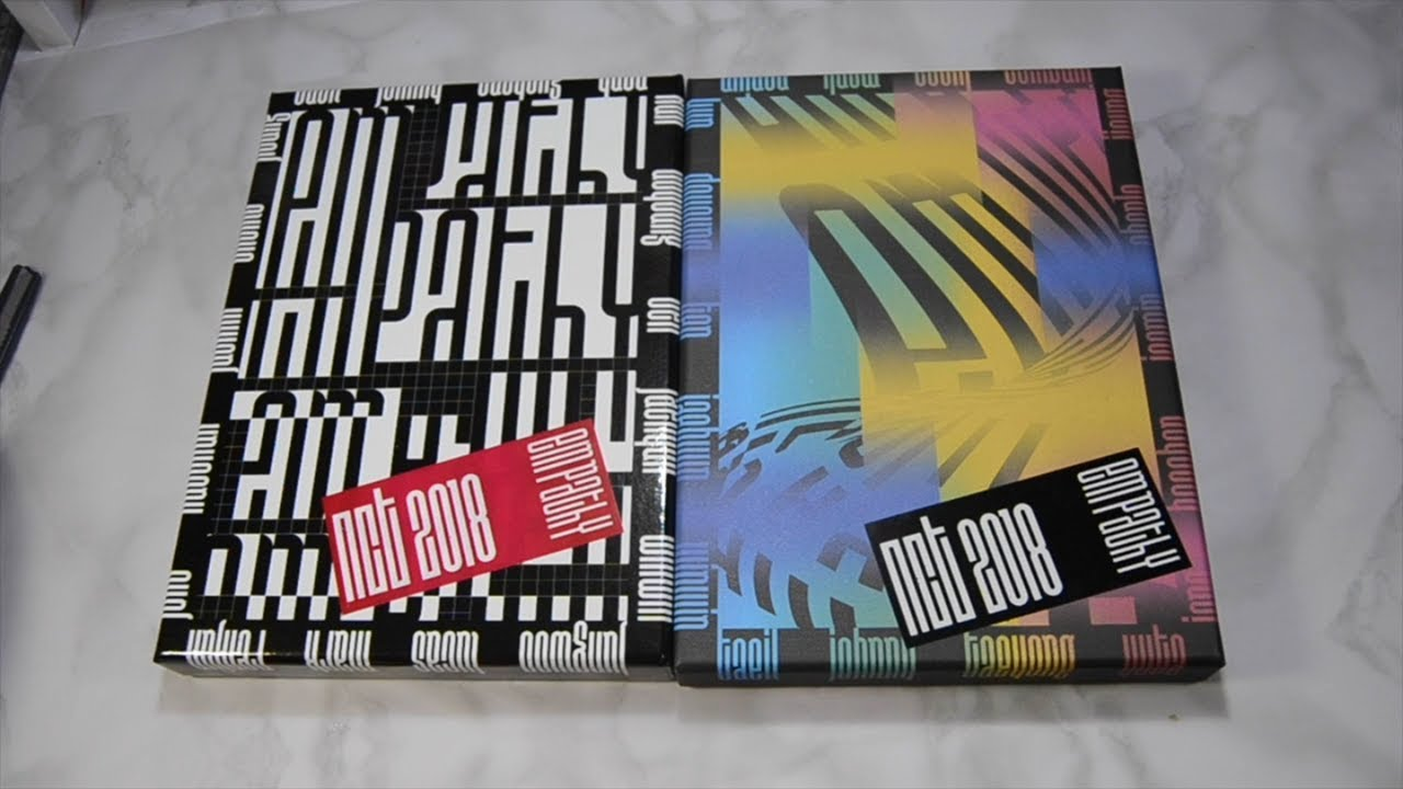 NCT 2018 Empathy (Dream and Reality Version) Unboxing