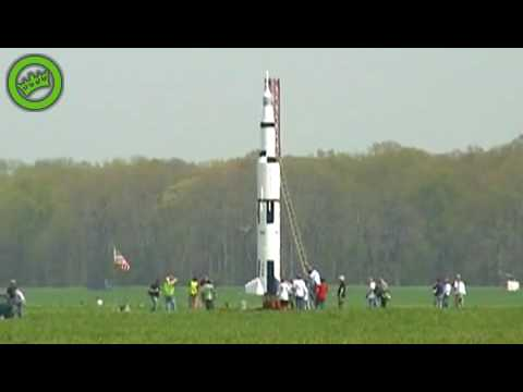 Launching a homemade rocket