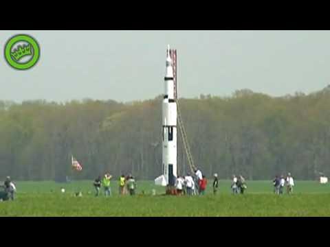 Launching a homemade rocket