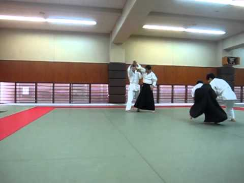 合気道昇級試験(3級) Aikido promotion exam The 3rd class