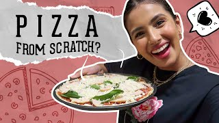 Making Pizza from Scratch 🍕😮 | Aashna Hegde