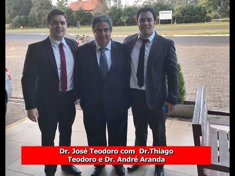 FAXINAL   Dr  Thiago Teodoro, De Apucarana, Fala Do Resultado Do Juri Do Bola Mel Em FAxinal