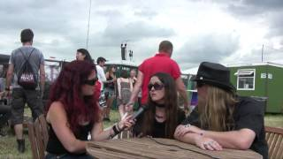 Bloody Hammers interview @ Download Festival 2014