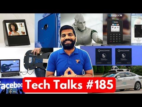 Tech Talks #185 - Fuchsia OS, Touchscreen Paint, Nokia in India, Whatsapp Video calling, UBER AI