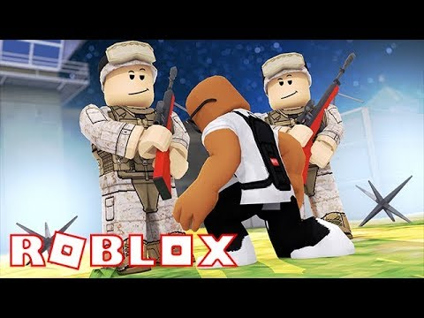 JOINING THE MILITARY IN ROBLOX