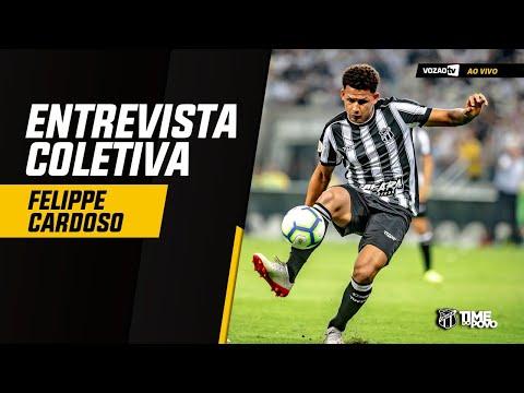 COLETIVA Coletiva Felippe Cardoso  13082019  Vozão TV