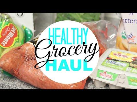 HEALTHY GROCERY HAUL!!! Trader Joe