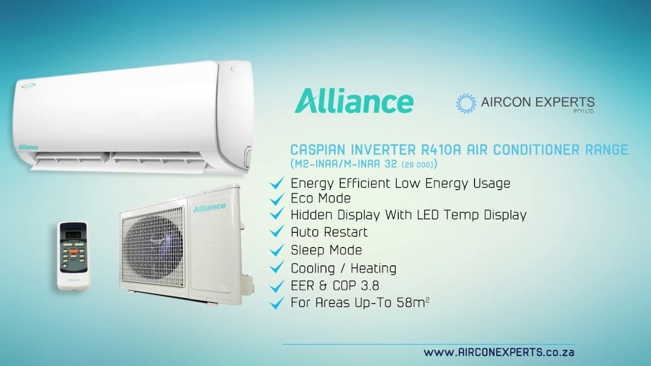 Alliance Caspian Inverter Midwall Split Unit Type Air