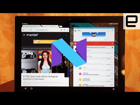 Android N Split Screen on the Pixel C: Quick Look