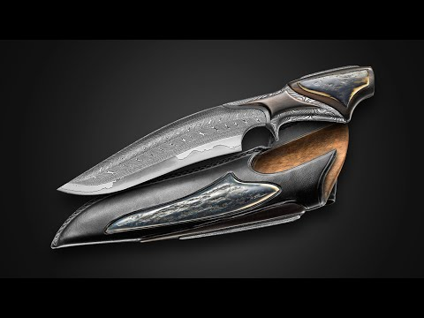AMAZING FORGED KNIFE by MASTER MATTHIEU PETITJEAN - Blacksmith & knife maker