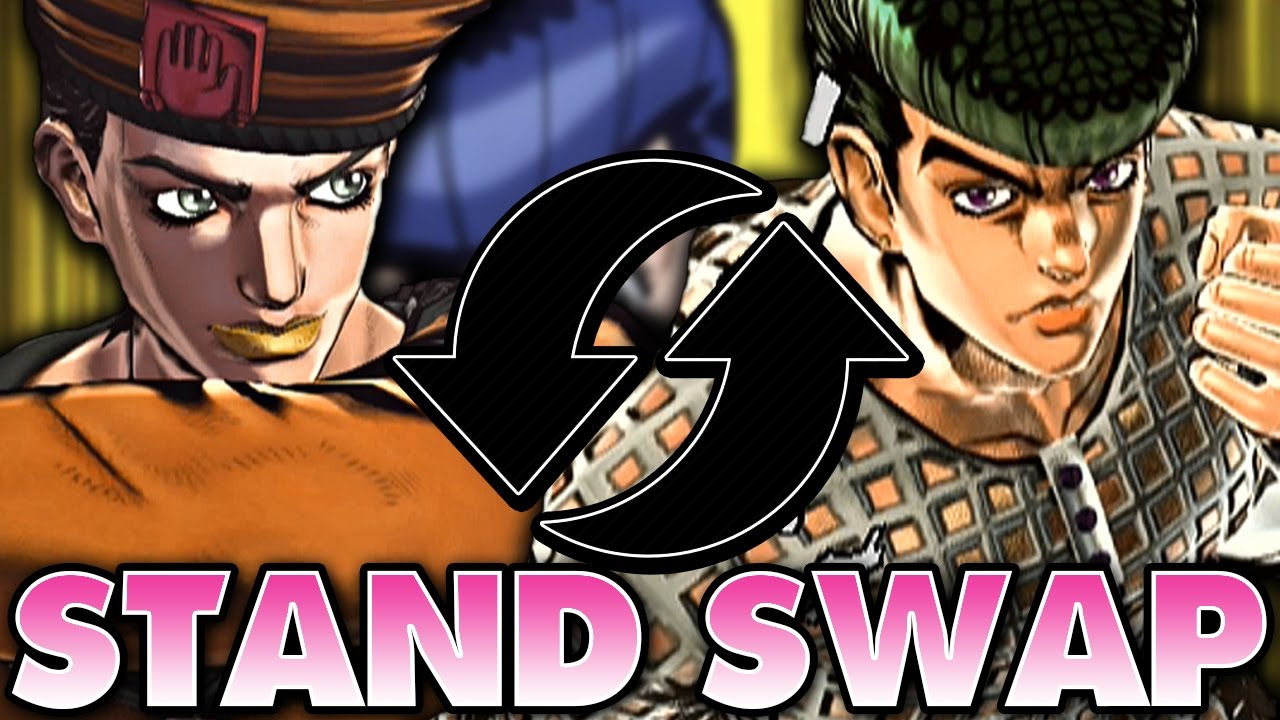 Stand Swap Episode 8 Crazy Diamond Soft And Wet Youtube This can be applied in several ways, including healing wounds, breaking two objects and combining them into one, and reducing something. stand swap episode 8 crazy diamond soft and wet