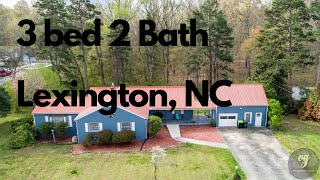 🎉Just Listed 🎉 3 Bed 2 Bath 2646 Greensboro St Ext Lexington NC