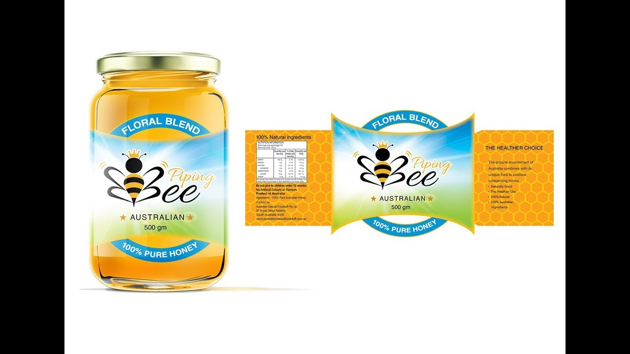 how to make beautiful label design using by coreldraw