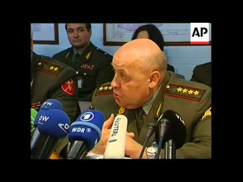 Russia's top general comments after talks at NATO HQ