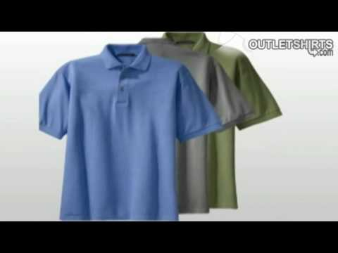 Pique Knit Sport Shirts from Outlet Shirts.flv