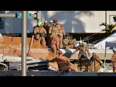Deadly Miami bridge collapse update