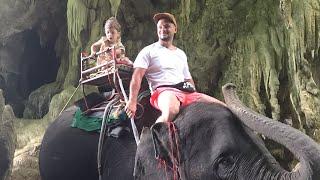 Тайланд 2019 часть 1 Полёт в Тайланд Пхукет Ферма слонов Большой Будда Хлам