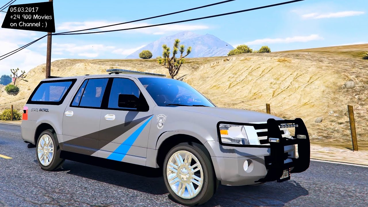 Ford Expedition State Troopers Gta V P  F F  A K Enb Fps  F F  A