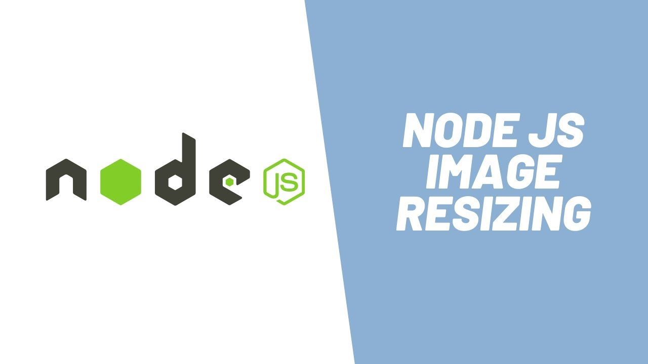 How to Resize Images in Node JS