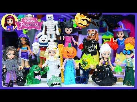 Thumbnail: Lego Disney Princess Scary Halloween Dress Up Costumes Kids Toys Silly Play
